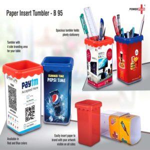 B95 – Paper Insert Tumbler