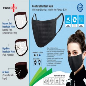 Comfortable 3 Layer Mesh Mask