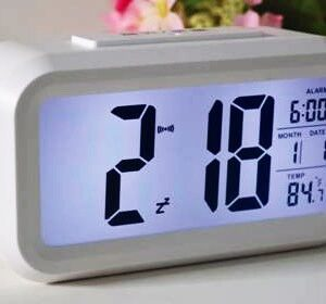 Large Display Clock With Backlight (Wall / Table)