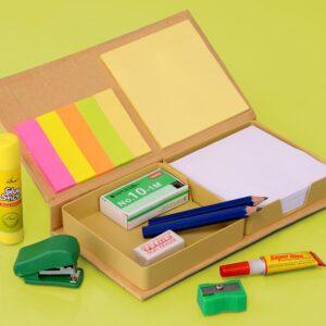 Eco Stationary Set With Memo Pads
