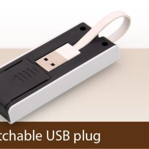 Compact 4 USB hub with Mobile Stand