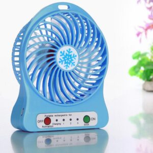 3 Speed Portable Fan With Torch
