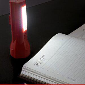 Hexa-Torch: Hexa Plastic Torch With Lamp (Magnetic)