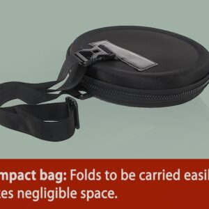 Folding Duffel Bag (Round Shape) (Cabin Size Compliant)