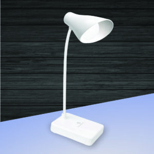 Brighto Rechargeable LED lamp with mobile stand | 3 Color light | Brightness adjustment