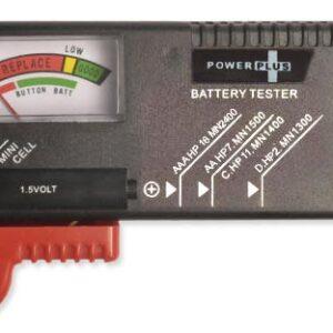 Battery Tester: Power Plus Universal Battery Tester
