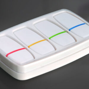 4 Pc Gel Highlighter Set In A Box